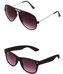 Benour BENCOM042 Combo Unisex Sunglasses