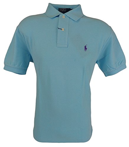 Polo Ralph Lauren Men'S Classic-Fit Mesh Polo Shirt (X-Large, French Turquoise)
