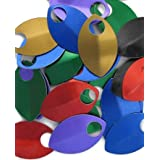 Small Scalemail Armor Scales - Anodized Aluminum in Multiple Colors (Mixed) (Color: Mixed)