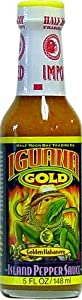 Iguana Gold Island Pepper Hot Sauce 5 Fl Oz from AmericanSpice.com