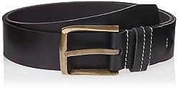 WAC Men's Leather Belt (8907222328290_X-Large_Black)
