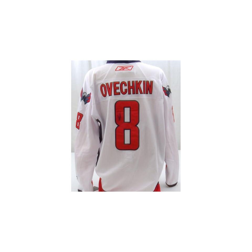 04b3aedade2 Alex Ovechkin Autographed Washington Capitals Jersey Autographed NHL Jerseys