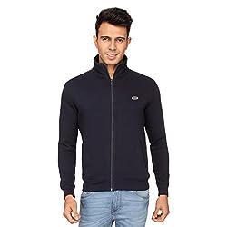 Proline Men's Cotton Knitwear (8907007343029_PC11016_NB_M_Navy)