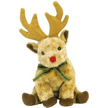 Ty Beanie Babies Rudy the Reindeer May 22, 2003 Retired [Toy]