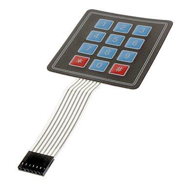 3 * 4 Matrix Keyboard Nembrane Keyboard Microprocessor Keyboard Keyboard Control Panel