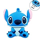 KOOTION Cute Lovely Cartoon Stitch Shaped USB Flash Drive Memory Stick (32G)