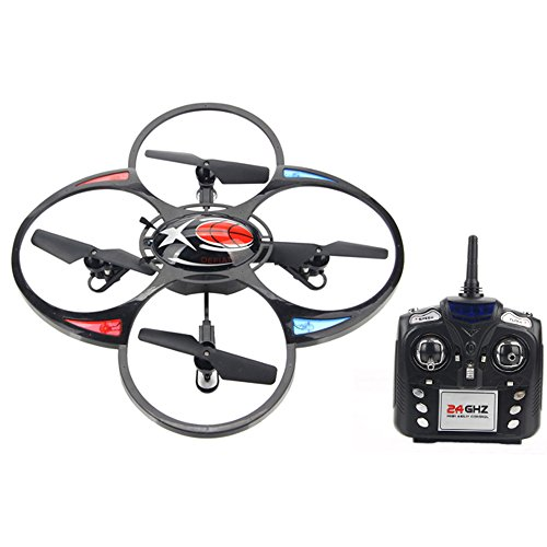 Jxd Jd393 2.4Ghz 6 Axis Gyro Rc Quadcopter Mode 2 With Led Light