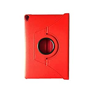 """RKA 360°Rotating PU Leather Stand Case For Xiaomi Mi Pad 7.9"""" Red"""