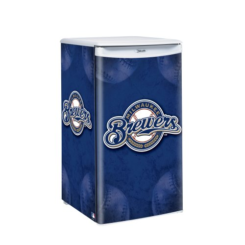 MLB Milwaukee Brewers Counter Top Refrigerator