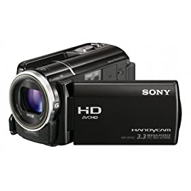 Sony HDR-XR160 High Definition Handycam Camcorder (Black)
