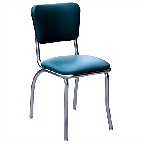 Budget Bar Stools 4110grn Diner Chair With 1 Quot Seat Steel
