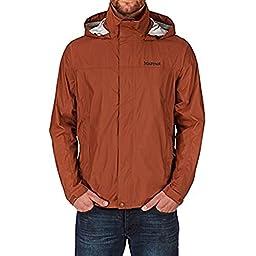 Marmot Men\'s Precip Jacket - Dark Rust