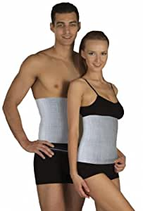 DELUXE WARMING BELT, Semi-Wool Rheumatic Back Pain Thermal Brace, RADICULITIS WARMER, Lumbar Kidney Support (Small)