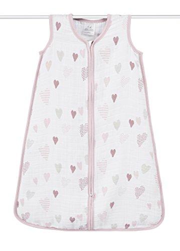 aden + anais (エイデンアンドアネイ) 【日本正規品】 クラシック スリーピング バッグ (スリーパー) heart breaker sleeping bag (L) 8092