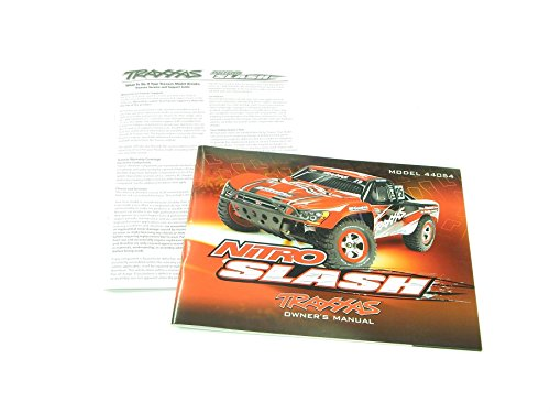 Traxxas Nitro Slash Owners Manual Parts List 4498 44054