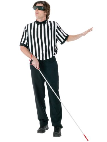Referee Blind Kit Jock Sports Easy Theatre Costumes