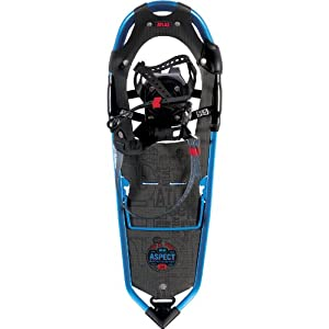 Atlas Snowshoes Aspect Snowshoes, Ultra Blue/Red, 24-Inch