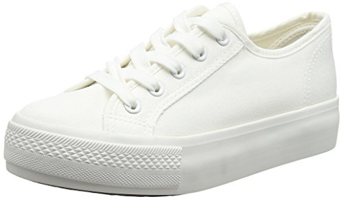 new-look-mega-3-double-sole-sneakers-basses-femme-blanc-white-10-white-395