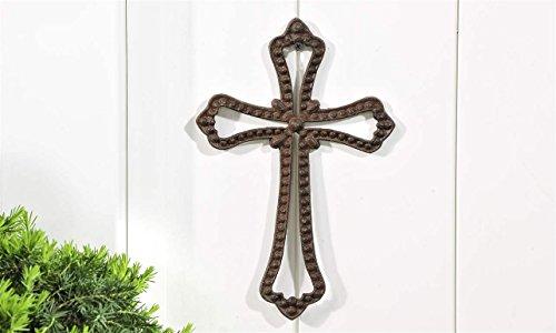 Gift Craft Ornate Cast Iron Wall Cross