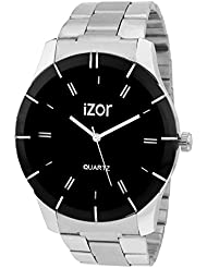 IZOR Black Dial Analogue Casual Wear Watch For Men- IZWAT2008