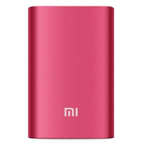 Xiaomi 10000mAh 大容量モバイルバッテリー コンパクト 急速充電可能 安全 Panasonic/LGセル搭載 アルミ合金ケース 赤
