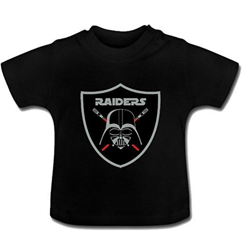 shangmai-custom-darths-raiders-baby-girls-and-boys-toddler-t-shirt-black