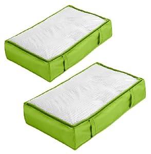 "Underbed Storage Bag - Lime (18"" x 30"" x 6"")"