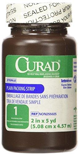CURAD Sterile Plain Packing Strips NON255145H - Walmart