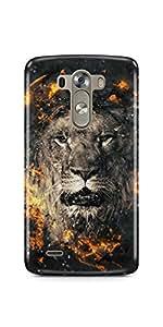 Casenation Lion Fury LG G3 Glossy Case