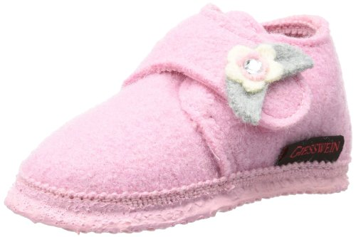 Giesswein Baby Finning First Walking Shoes Pink Pink (rose 386) Size: 24