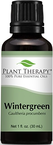 Wintergreen Essential Oil. 30 ml (1 oz). 100% Pure, Undiluted, Therapeutic Grade.