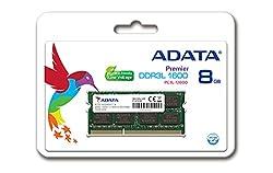 ADATA Premier Series 1600MHz DDR3 8GB PC3L-12800 204-Pin Laptop Notebook RAM Memory