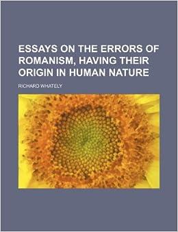 Essays on human nature