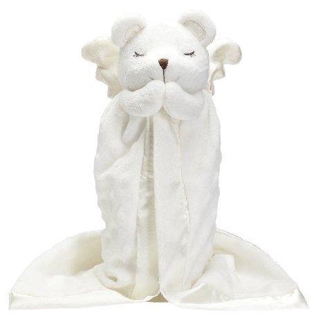 Elegant Baby Prayer Bear Blankie Buddy