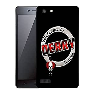 Snoogg Welcome To Derry Designer Protective Back Case Cover For OPPO NEO 7