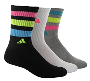 adidas Women's 3-Pair Retro Crew Sock at Sears.com