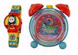 Thomas Kids Twin Bell Alarm Clock And LCD Watch TTE31