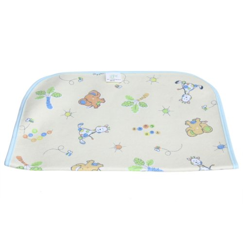 Baby Infant Cover Waterproof Urine Pad Changing Mat Underpad Blue S front-97304