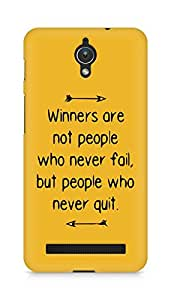 AMEZ but people who never quit Back Cover For Asus Zenfone C ZC451CG