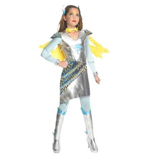 Monster High Frankie Stein Voltageous Power Ghouls Doll and Girls Costume