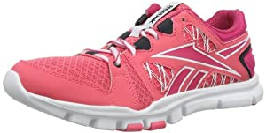 Reebok  YOURFLEX TRAINETTE RS 4.0, Chaussures d'athlétisme femme - Multicolore - Mehrfarbig (VICTORY PINK/PINK FUSION/WHITE/REEBOK NAVY), 37 EU