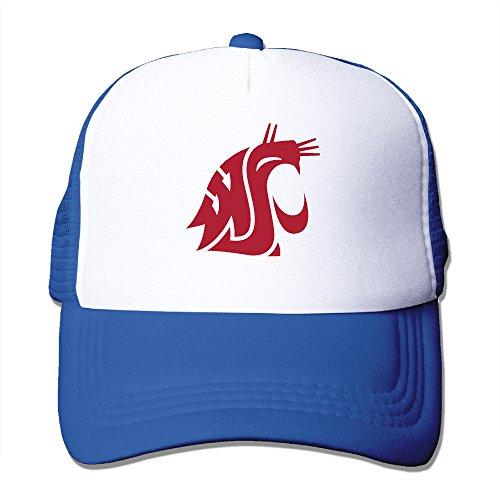 [ACMIRAN Washington State University Cougars Soft Hat One Size RoyalBlue] (College Football Mascot Costumes For Sale)