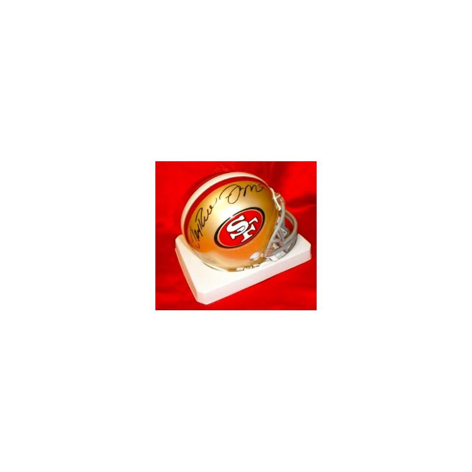 Jerry Rice & Joe Montana Hand Signed Autographed San Francisco 49ers