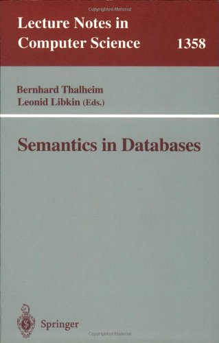 Semantics in Databases (Lecture Notes in Computer Science)