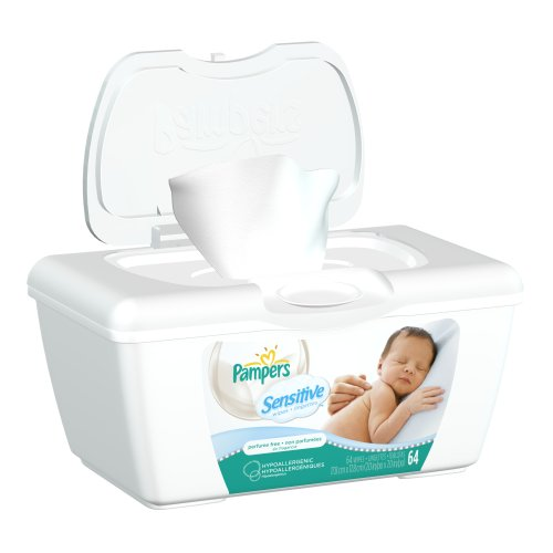 How to get Pampers Sensitive Wipes Tub 64 Count (Pack of 8) Reviews