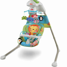 Fisher price discover n grow cradle n swing baby shop for Altalena chicco amazon