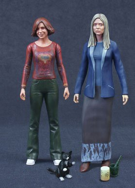 Cinequestcom Exclusive Buffy the Vampire Slayer Willow  Tara Together Forever Action Figure 2-Pack