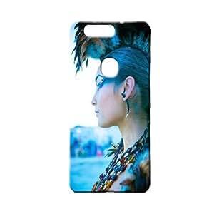 BLUEDIO Designer 3D Printed Back case cover for Huawei Honor V8 - G3465