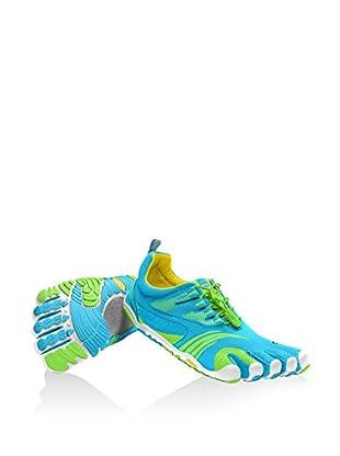 Vibram Fivefingers Escarpines Fitness Kmd Sport Ls (Azul / Verde)