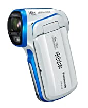 Panasonic HX-WA03 Dual Waterproof 16MP Digital Camcorder (white)